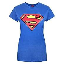 Official Superman Shield Logo Women's T-Shirt (L)