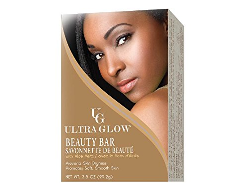 (Ultra Glow Beauty Bar with Aloe Vera, 3.5 Ounce)