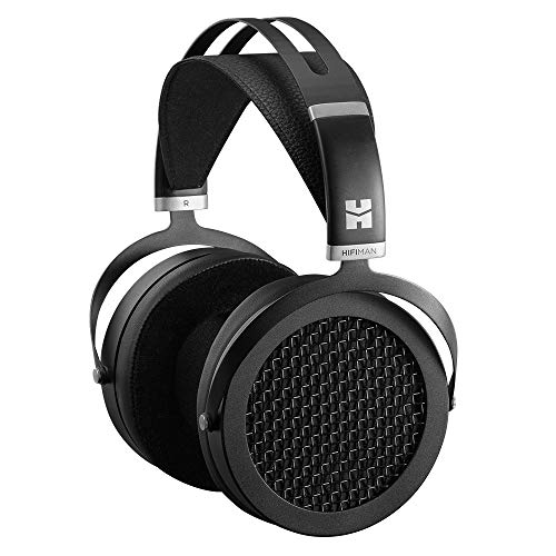 HIFIMAN SUNDARA Over-Ear Full-Size Planar Magnetic Headphones (Black) with High Fidelity Design,Easy to Drive by iPhone/Android,Studio (Best Bang For Buck Dac)