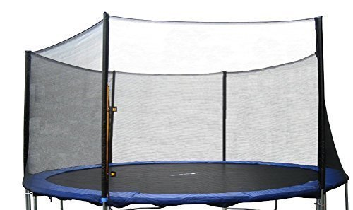 Exacme 6180-EN12T Replacement 12' Trampoline Netting Outer Safety Net without 6 Poles by Exacme