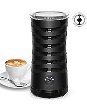 Milk Foaming Hot and Cold Milk Foam Electric Steamer Soft Foam Machine Cappuccino Coffee, Coffee, Latte Double Wall Warmer Heater Non-Stick Interior