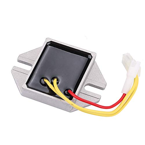MIU14388 Voltage Regulator for John Deere GT235E GT235 LA140 LA150 LA155 LA165 LA175 D150 D155 D160 D170 125 135 145 155C 190C Engine LG691185 MIU12514 (Lawn Mower Voltage Regulator)