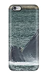 For Jeffrey Goodale Iphone Protective Case, High Quality For Iphone 6 Plus Whales Animal Other Skin Case Cover