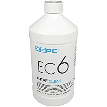XSPC EC6 High Performance Premix Coolant, Translucent, 1000 mL, Clear
