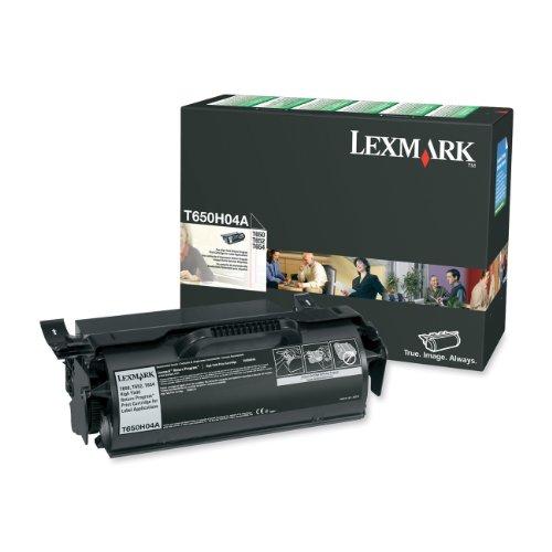 Lexmark T650H04A High Yield Return Program Black Toner Cartridge