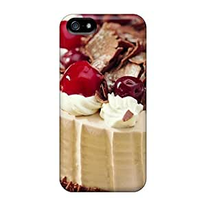 LastMemory Case Cover Protector Specially Made For Iphone 5/5s Amazingly Delicious Cake
