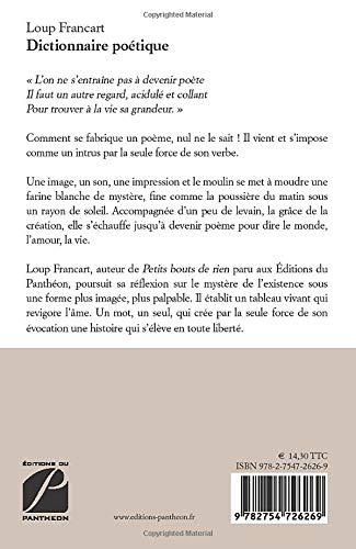 Dictionnaire Poétique Poésie Amazones Loup Francart