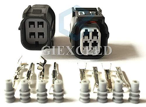 Hvg Series - 5 Sets 4 Pin Sumitomo 6189-7039 6188-4776 HV/HVG Series 040 O2 Sensor Automotive Connector Female Male Waterproof Socket Auto Plug