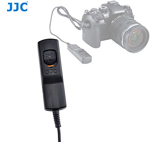 JJC MA-J2 Remote Shutter Cord for Olympus E-M1 Mark II/E-M1X, Olympus E-M1 II E-M1X Release Cable, 90cm, Replacement of Olympus RM-CB2 Remote Cord