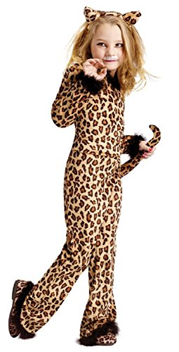 Child Pretty Leopard Costumes (Pretty Brown Leopard Girls Costume (24 months-2T))