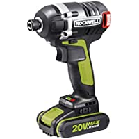 Rockwell Rk2868K2 20V 3-Speed Cordless Impact Driver Advantages