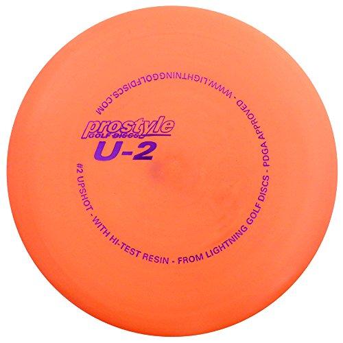 Lightning Golf Discs Prostyle U-2#2 Upshot Putt & Approach Golf Disc [Colors May Vary] - 165-169g ()