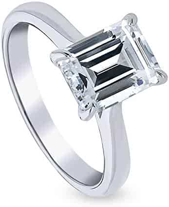 Beautiful Paris Double C Vintage 4.50ct Diamond 925 Solid Silver Wide Band Ring