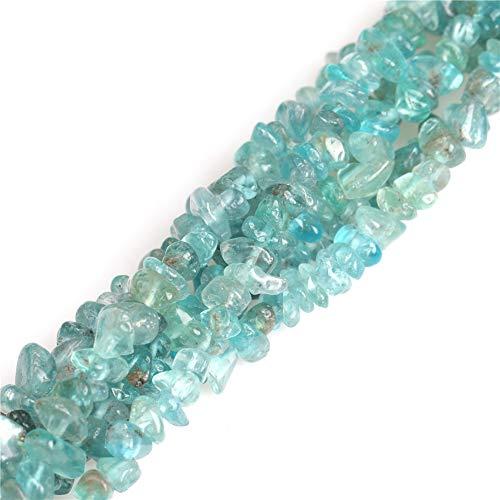 "7-8mm Kyanite Chips Beads for Jewelry Making Natural Gemstone Semi Precious 34"" JOE FOREMAN"