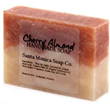 Santa Monica Soap Co. Handmade Soap - Cherry Almond by Santa Monica Soap Co.