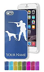 Personalized Case/Cover for iPhone 6 4.7 - HUNTER AND DOG, HUNTING - Engraved for FREE
