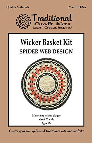 Wicker Basket Kit - Spider Web Design (Wicker Weaving Kits)
