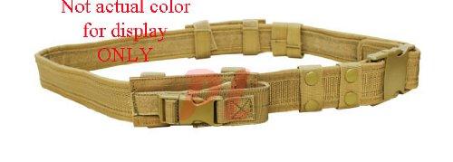 CONDOR Tactical Belt (Tan, Up to 44-Inch Waist)