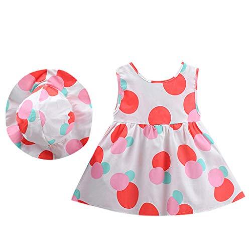 VEFSU Fashion Toddler Kid Baby Girl Dot Printed