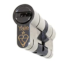Yale Superior BS TS007 1* Anti Snap Euro Cylinder 45//50 95mm Nickel