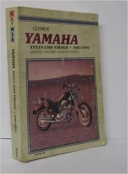 Yamaha XV535-1100 Virago, 1981-1993: Clymer Workshop Manual (1995-04-03)