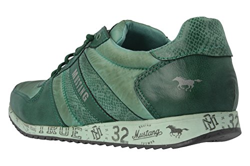 Mustang1226-401 - Zapatillas Mujer, color Verde, talla 45 UE