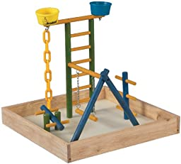 Acrobird Playground, 18-Inch W by 18-Inch D