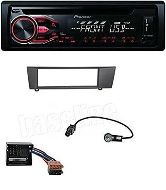 Pioneer CD MP3 USB AUX Radio de coche para BMW 1er E87 3er E90 E91 E92 E93 X1 E84 Z4 E89: Amazon.es: Electrónica