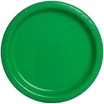 Green Paper Plates 16ct  sc 1 st  Amazon.com & Amazon.com: Green Paper Plates 16ct: Kitchen \u0026 Dining