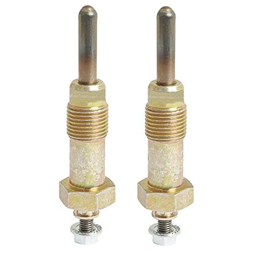 (2) Glow Plugs for Ford New Holland Compact Tractor 1000 1500 1600 1700 Replaces SBA185366010