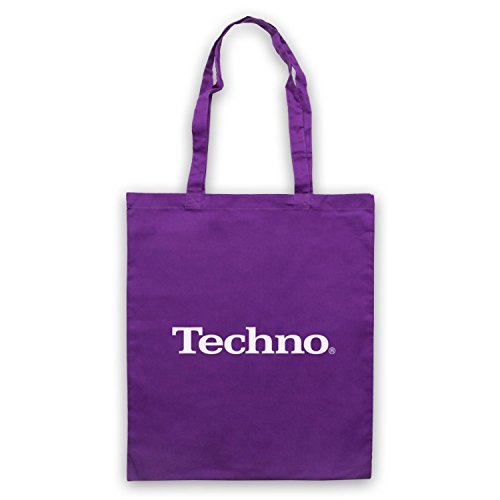 Techno Music Parody Logo Sac d'emballage Violet