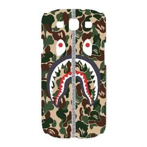 Bape Shark Camo Army,TPU Phone case for SamSung Galaxy S3 9300,white,1600CZO0N6