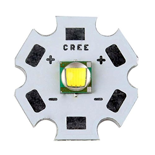 Cree XML T6 10W White Light LED Emitter Bead Mounted On 20mm PCB Flashlight