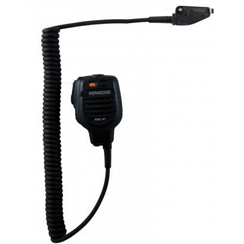 Kenwood KMC-41M MIL-SPEC, IP54/55 speaker microphone NX-200, NX-210, NX-300, TK-190, TK-280, TK-290, TK-380, TK-385, TK-390, TK-480, TK-481, TK-2140, TK-2180, TK-3140, TK-3148, TK-3180, TK-5210, TK-5220, TK-5310, TK-5320, - Speaker Microphone Duty