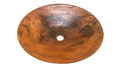 - Round Copper Vessel Bathroom Sink