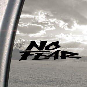 Pegatina para coches No Fear para BMX, tabla de snowboard o de surf, patineta o coche, color negro: Amazon.es: Coche y moto