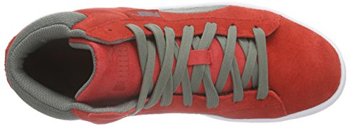 Puma Puma 1948 Mid - Zapatillas altas Unisex adulto Rojo - Rot (high risk red-castor gray 08)