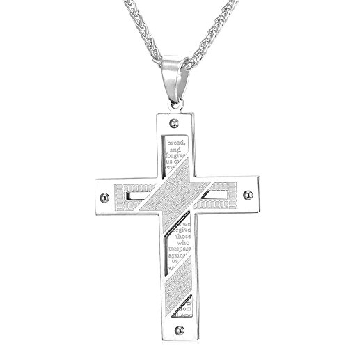 U7 Christian Stainless Religious Necklace