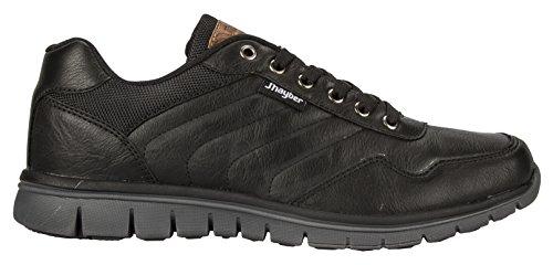 Jhayber Zapatos chapita Black(talla-46)