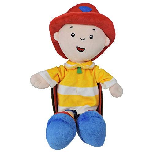 Caillou Firefighter Plush