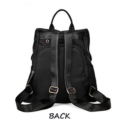 Ladies Daypacks Liso Mochila Bag Casual Purple Oxford De Mochila Fashion Shoulder Mochila Color d5qAwAS