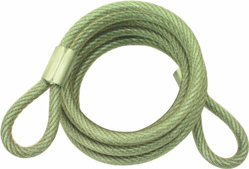 ABUS 86 Steel Braided Cable 1/4-Inch Width 6-Feet Length (Abus Cable)