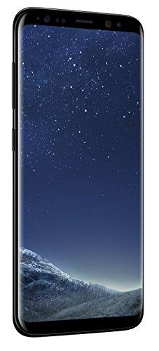 SAMSUNG Galaxy S8 64GB Phone - 5.8in Unlocked Smartphone - Midnight Black (Renewed)