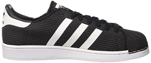 adidas Superstar, Scarpe da Ginnastica Basse Uomo Nero (Core Black/Footwear White/Footwear White)