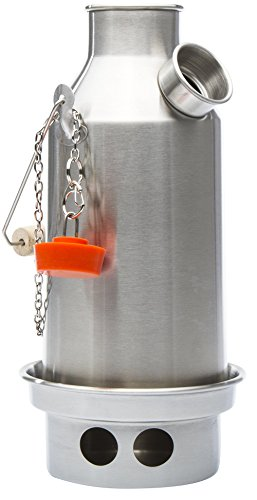 Kelly Kettle 5000-04 Stainless Steel Trekker Cook Stove, 12-Inches