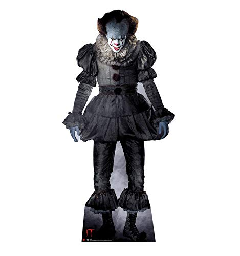 (Advanced Graphics Pennywise The Dancing Clown Life Size Cardboard Cutout Standup - It (2017)