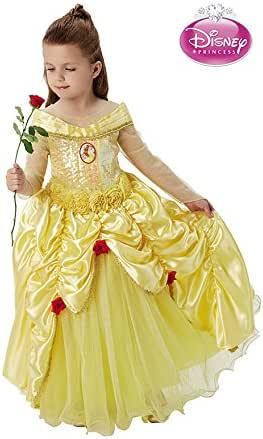 Disfraz de Bella premium de Disney para niña: Amazon.es: Juguetes ...