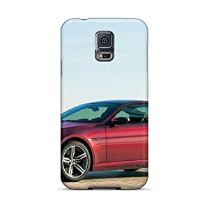 Hot Snap-on Red Bmw M6 Side View Hard Cover Case/ Protective Case For Galaxy S5