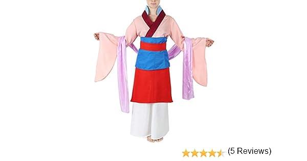 CoolChange Vestido Tradicional Chino, Disfraz de Mulan, tamaño: S ...