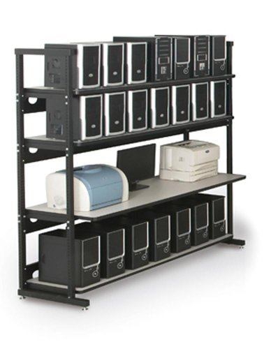 Kendall Howard 72-inch-4-Post-LAN-Rack (7100-1-100-72)